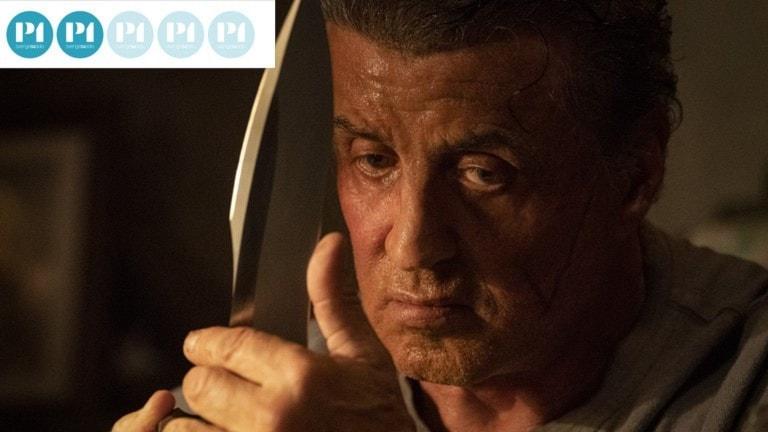Vad har jag gett mig in på? Sylvester Stallone gör Rambo en sista gång.