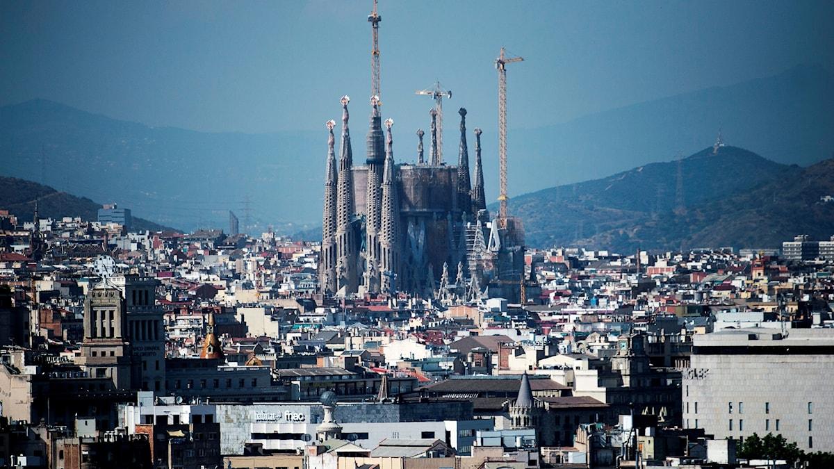 Terroristerna i Barcelona planerade en attack mot katedralen La Sagrada Familia i Barcelona.