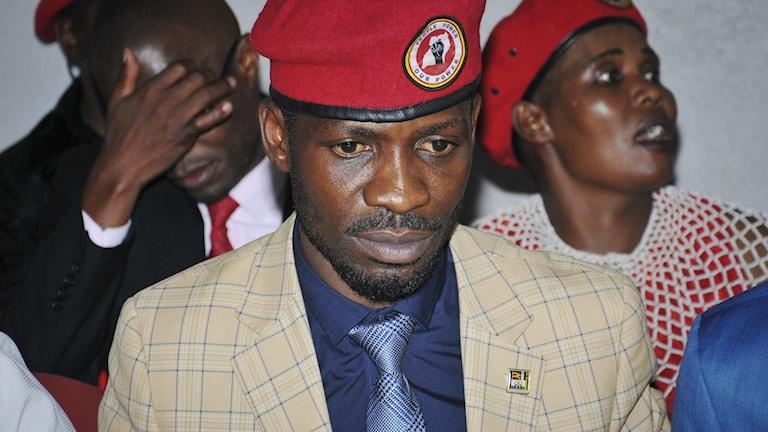Ugandiske politikern och musikern Bobi Wine