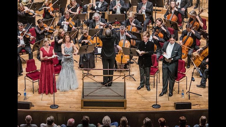 Kungliga filharmonikerna med Michael Tilson Thomas på Stockholms konserthus.