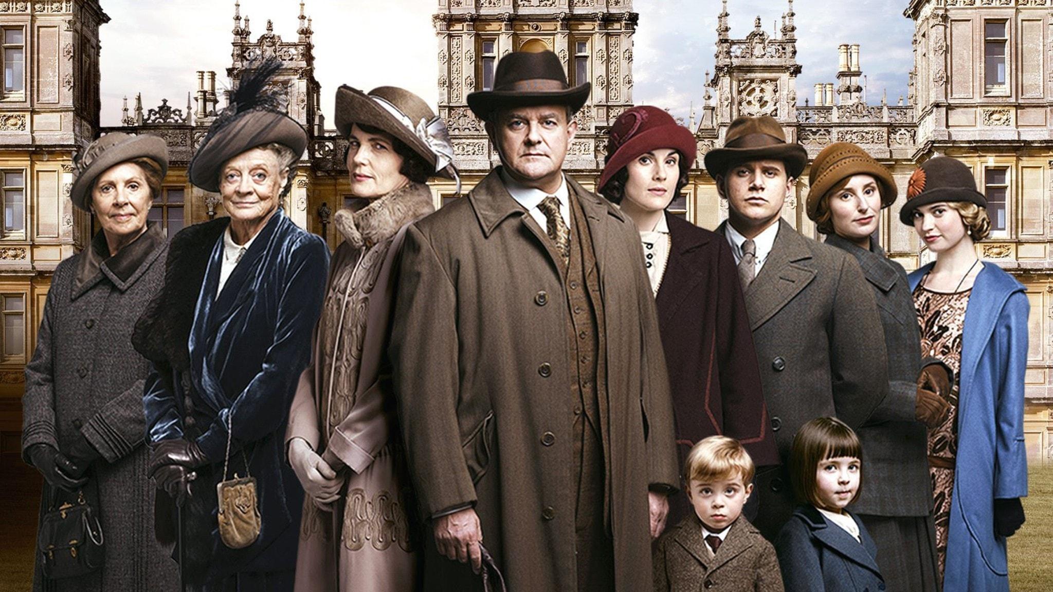 Downton Abbey. Foto: SVT