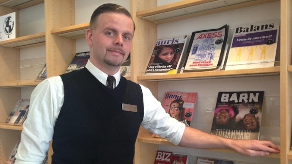 Andreas Ingefjord är enhetschef för medier på Malmö Stadsbibliotek.