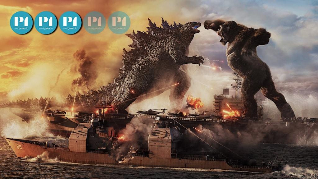 Godzilla vs Kong har biopremiär den 28 maj.