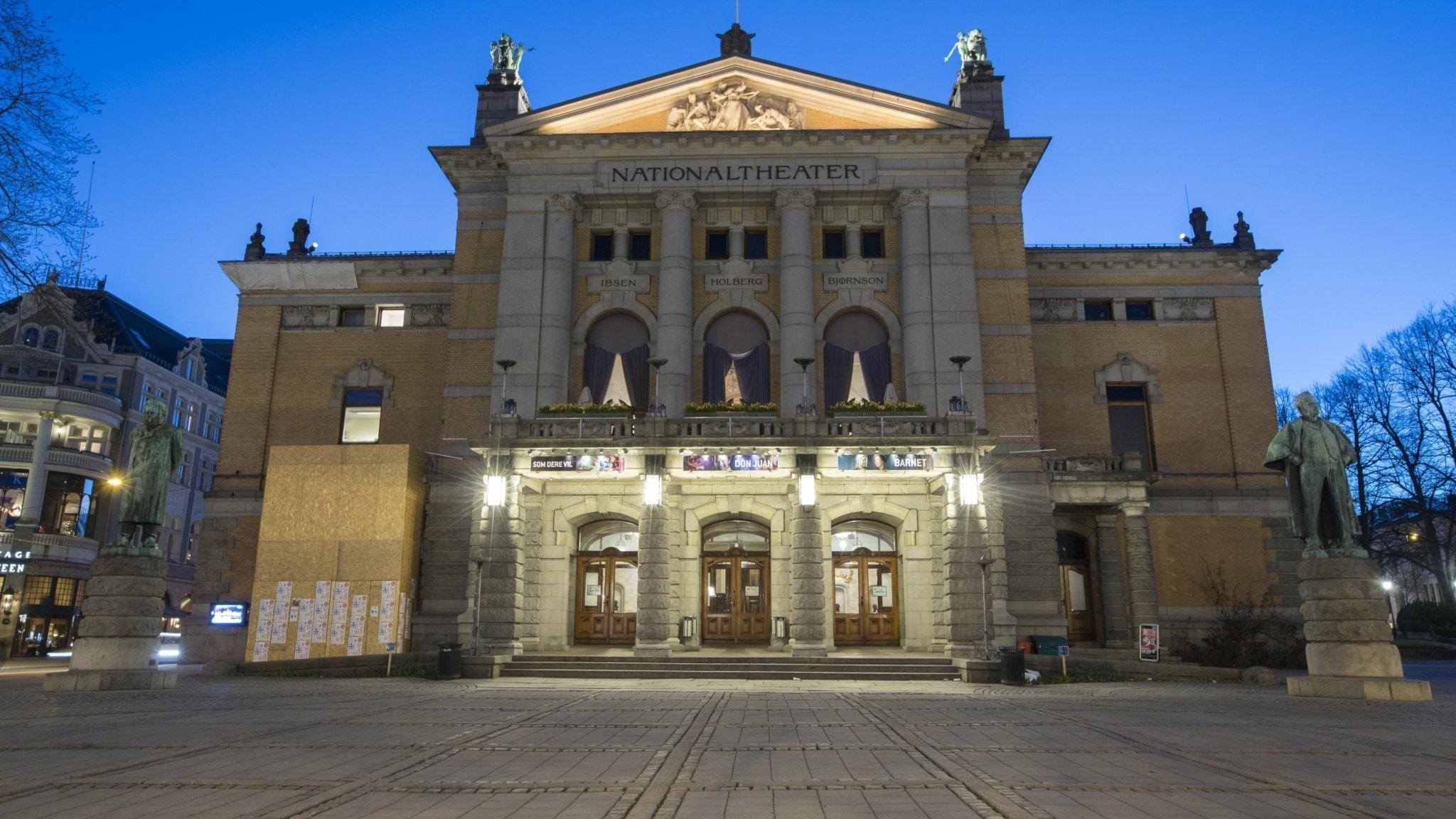 Tomma scener hotar om norska kulturarbetare går ut i strejk
