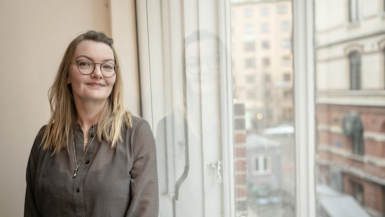 Regissören Maria Bäck.