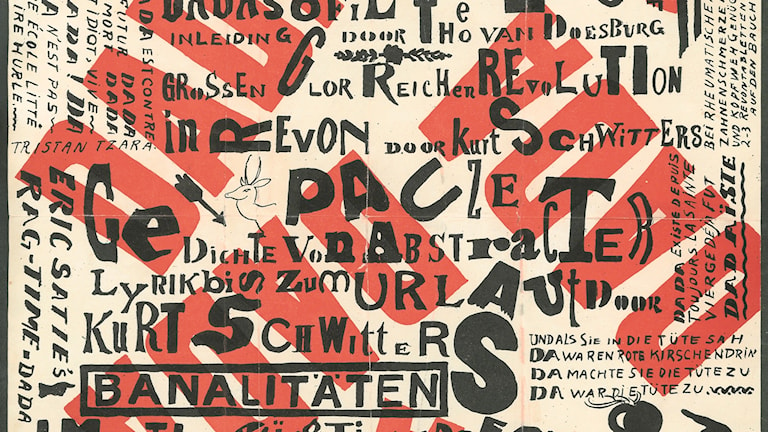 Kurt Schwitters / Theo van Doesburg: Kleine Dada Soirée, 1922 (beskuren)