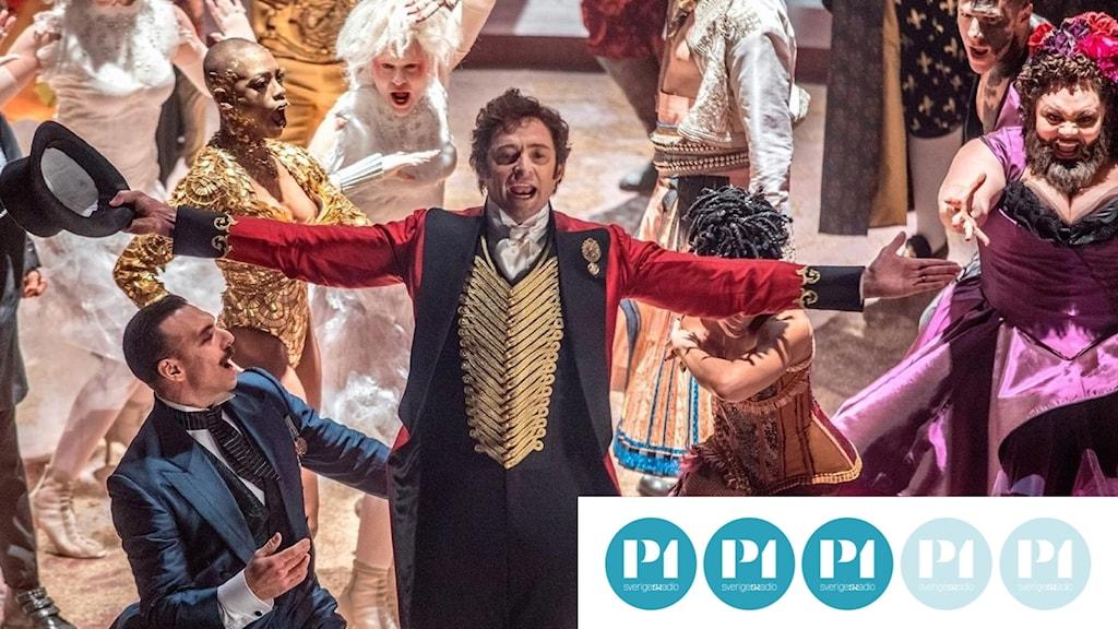Hugh Jackman i The Greatest Showman. Foto: Fox Movies.