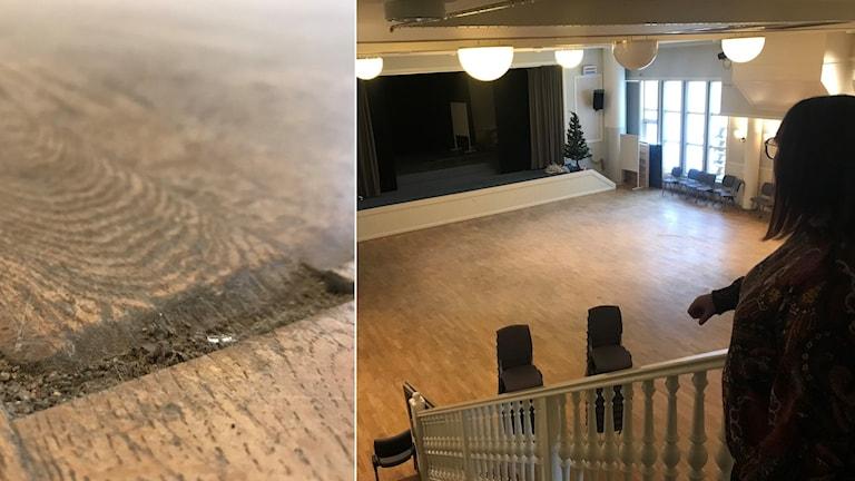 Norsjö Folkets hus är ett av många exempel på lokaler som skulle behöva rustas upp.