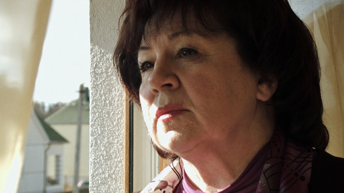 """Zjanna Grisjtjenko. Ur filmen """"Lyubov - kärlek på ryska"""""""