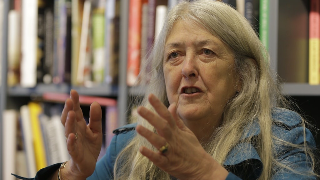 Mary Beard, professor i klassiska studier, författare och känd för sina tv-program om t.ex. antikens Rom