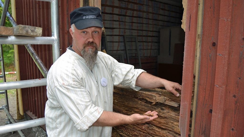 Jimmy Korpenwinge. Foto: Peter Öberg, Sveriges Radio.