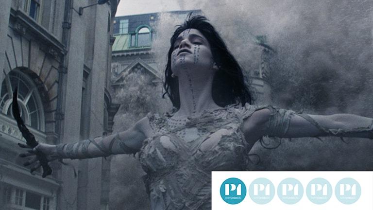 "Sofia Boutella som mumie i ""The Mummy""."