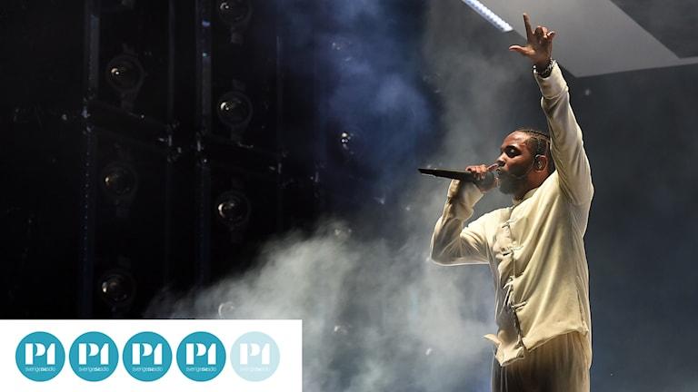 """Kendrick Lamar är aktuell med albumet """"DAMN."""""""