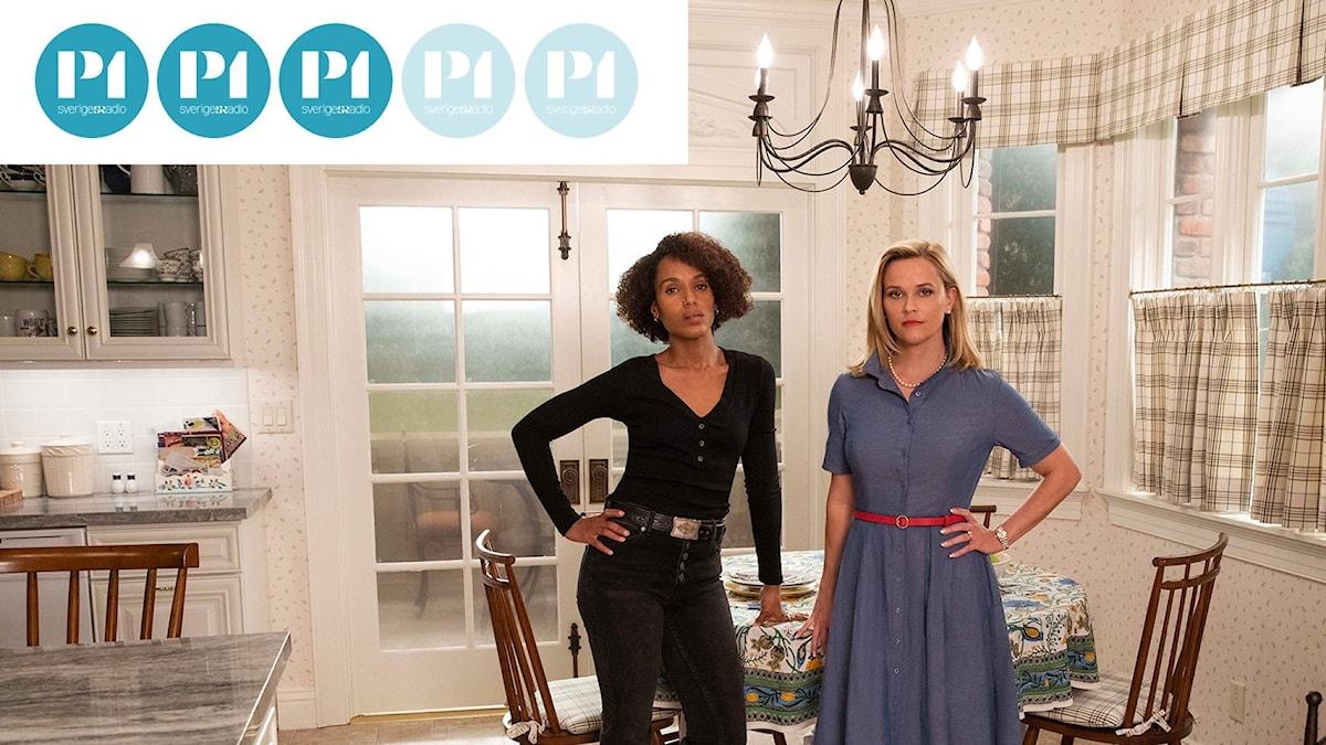 Romanen Little Fires Everywhere har blivit TV-serie med Reese Witherspoon och Kerry Washington.