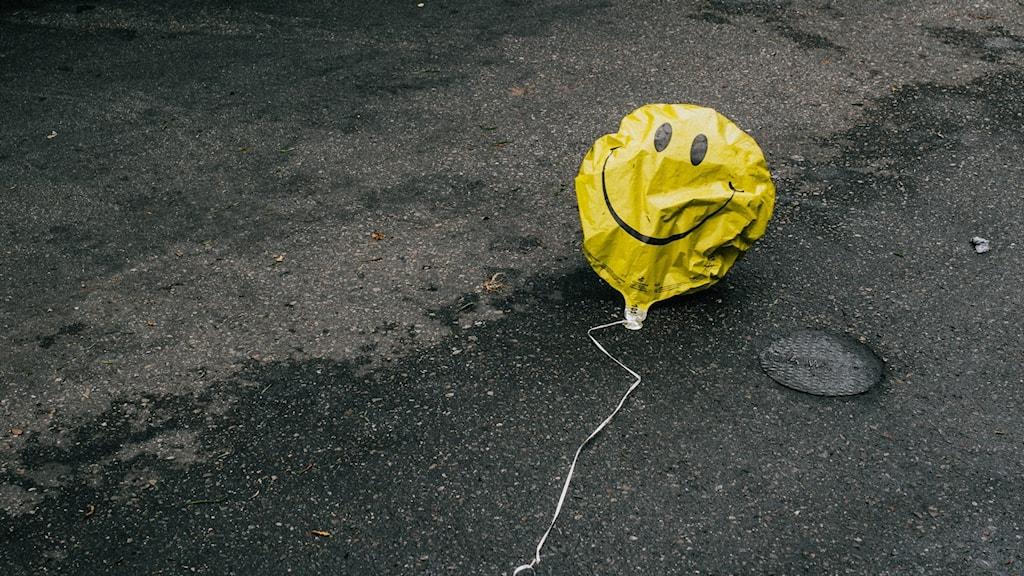 Bilden föreställer en ballong