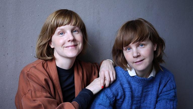 Lisen och Emma Adbåge.