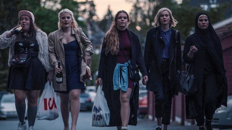 Tv-serien Skam riktar sig till norska tonåringar.