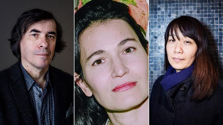 MIRCEA CARTARESCU, Nicole Krauss, Han Kang.