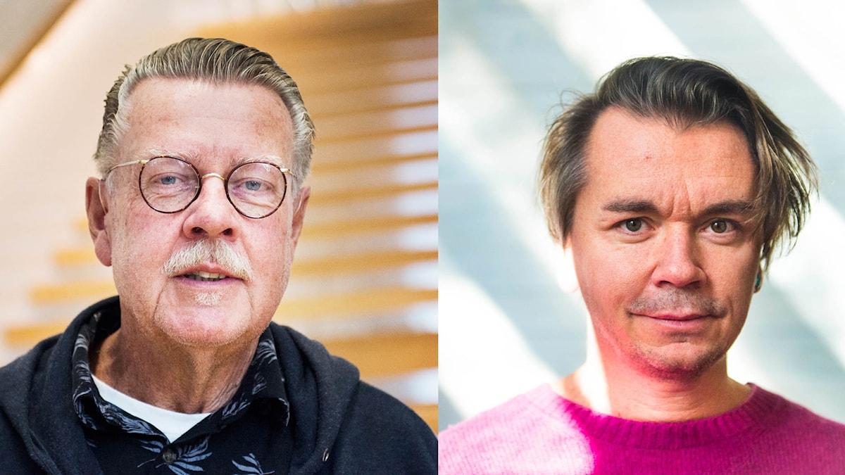 Mikael Wiehe och Emil Jensen.