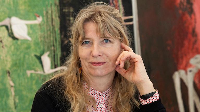 Konstnären Karin Mamma Andersson.