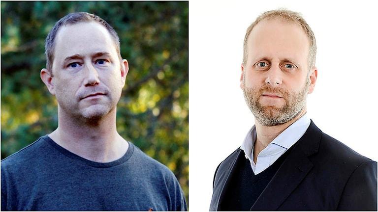 Anders Bäckström, ansvarig utgivare för SVT Nyheter Västerbotten och Marcus Melinder, ansvarig utgivare för lokaltidningen Norran i SKellefteå, tror på högre transparens i journalistiken för att öka förtroendet om opartiskhet.