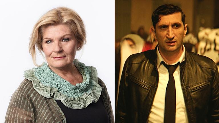"Cecilia Uddén och Fares Fares i ""The Nile Hilton Incident""."