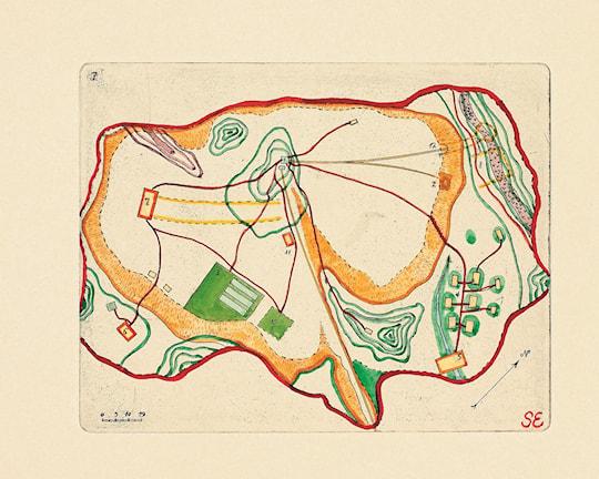 """Figur 3: """"Översiktskarta över Kullahusområdet""""."""
