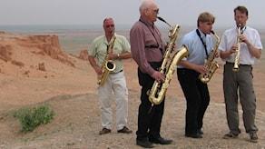 Stockholms saxofonkvartett.