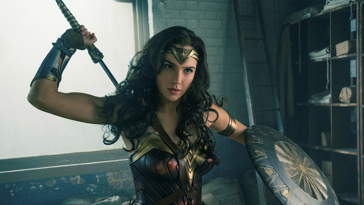 Gal Gadot som Wonder Woman.