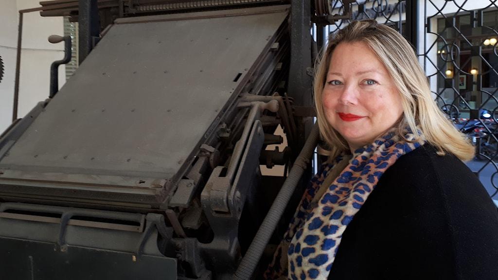 Fransksvenska Le Figaro-journalisten Lena Lutaud uppskattar beslutet om fler kvinnor i den franska filmproduktionen