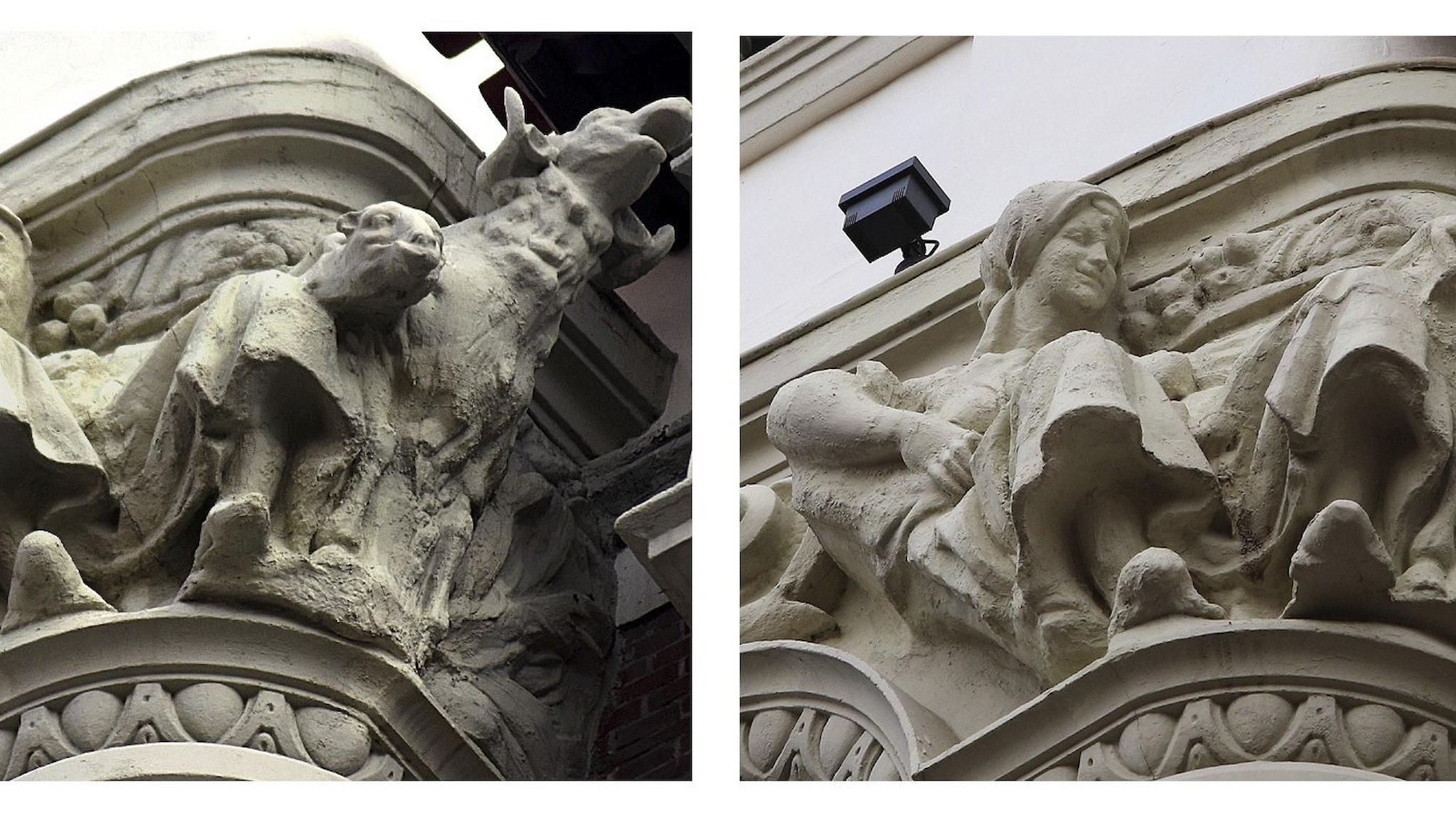 Misslyckad konstrestaurering i Palencia, Spanien.