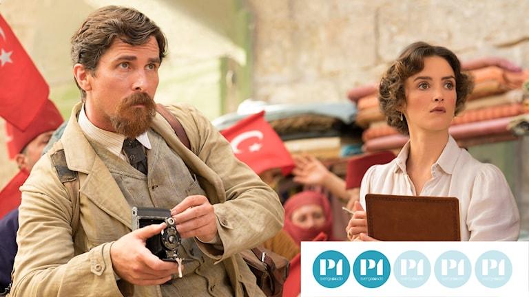 """Christian Bale spelar journalist i """"The Promise""""."""