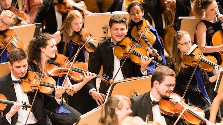 Europeiska ungdomsorkestern.