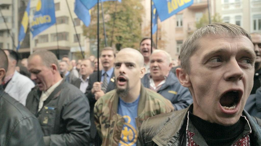 """Dokumentärfilmen """"Ukraina - revolutionens mörka sida."""""""