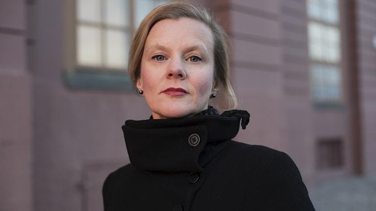 Författaren Gertrud Hellbrand