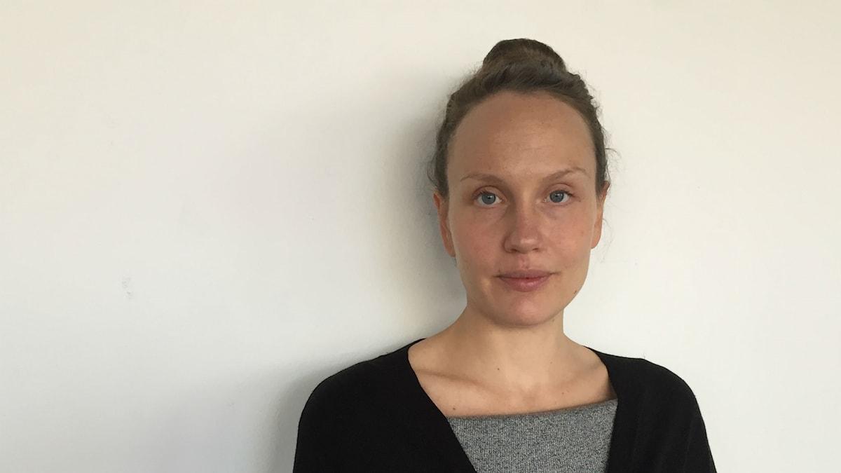Sångerskan och tonsättaren Sarah Riedel.