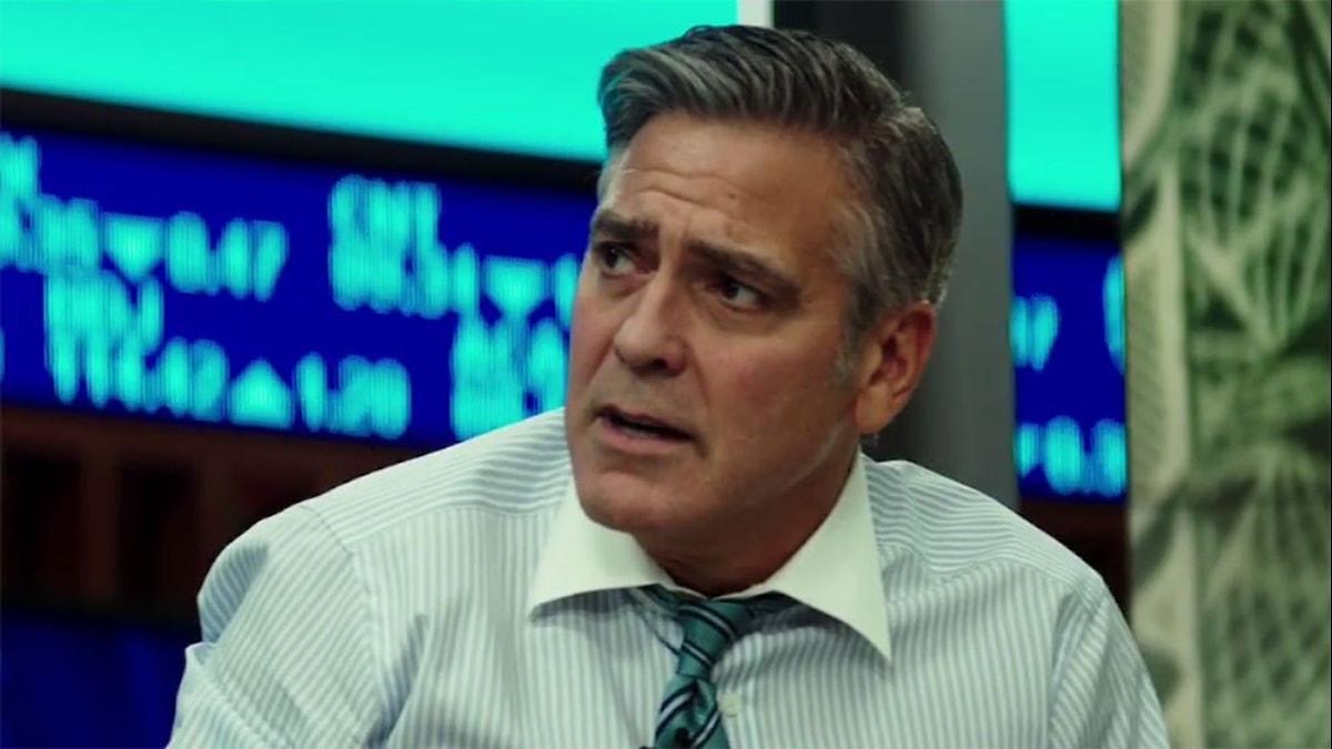 George Clooney som Lee Gates i Money monster. Foto: UIP.