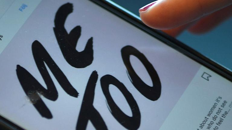 Hashtaggen #MeToo har spridit sig över hela världen