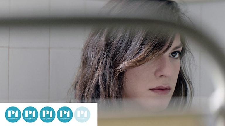 "Daniela Vega som Marina i ""En fantastisk kvinna""."