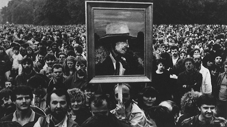 Dylanfans  i Östberlin 1987