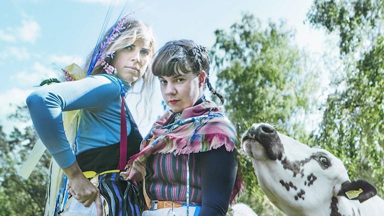 Samantha Ohlanders och Sara Parkman.