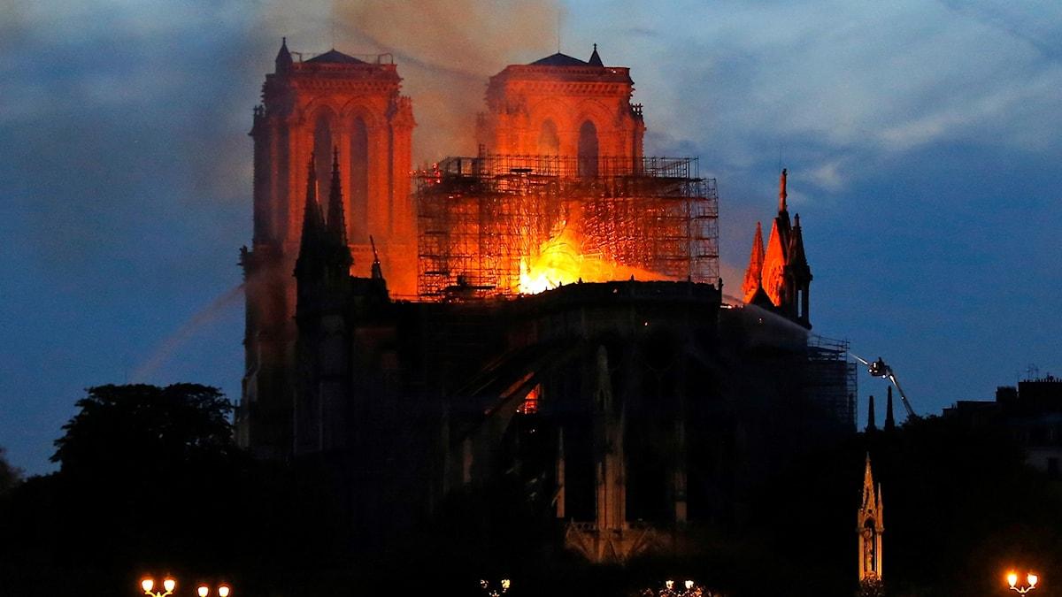 Branden i Notre Dame.