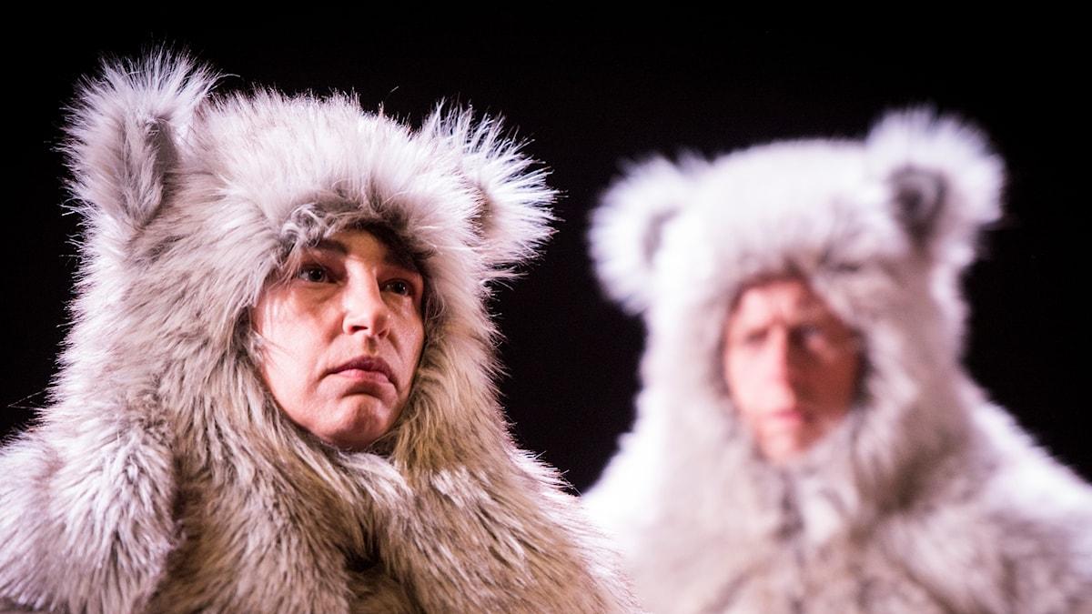 Bild från föreställningen Tigern av Teater Jupither Josephsson.