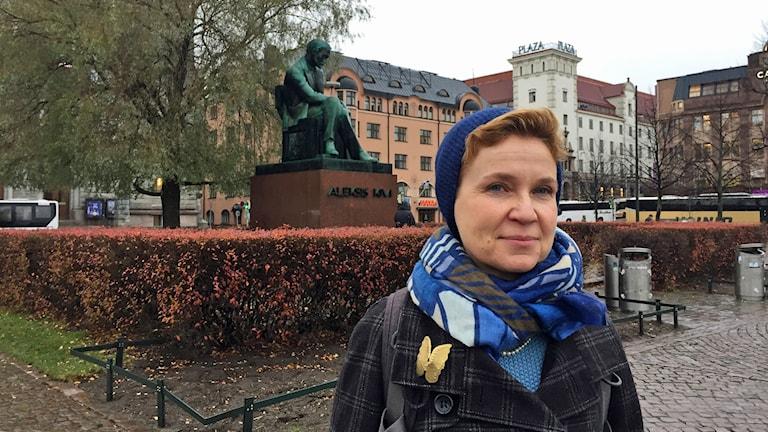Sirpa Kähkönen, författare, Helsingfors.