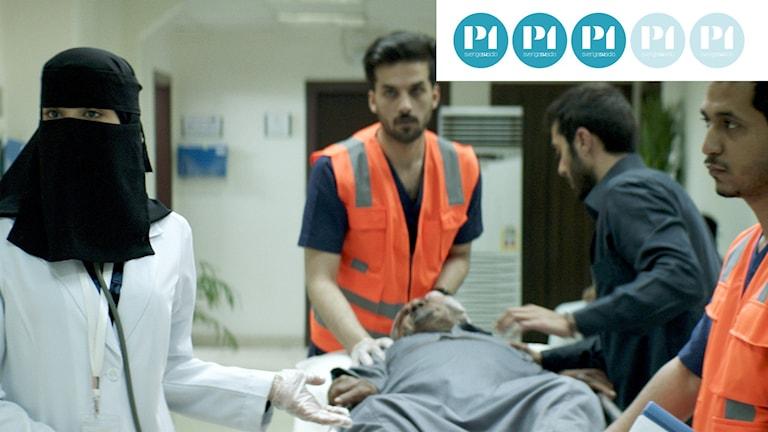 """""""En kvinnas val"""" handlar om kirurgen Maryam och hennes kamp på ett sjukhus i Suadiarabien."""