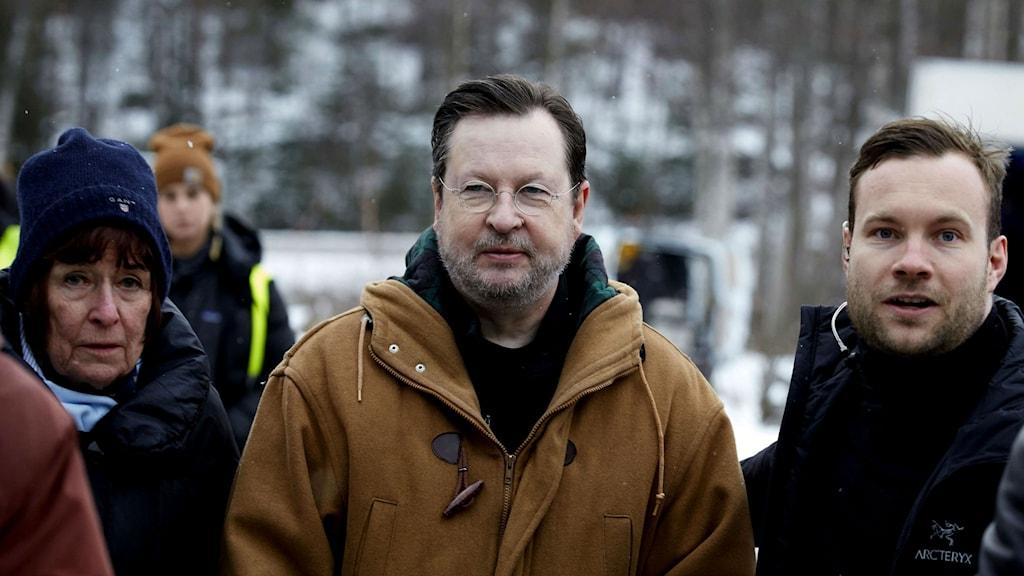 Regissören Lars von Trier är i Bengtsfors för att göra film igen.