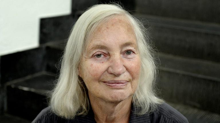 Konstnären Lena Cronqvist.