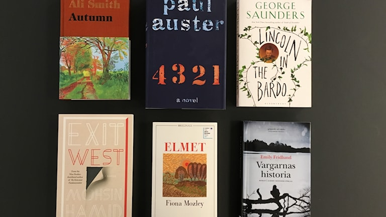 Nominerade till årets Man Booker Prize.