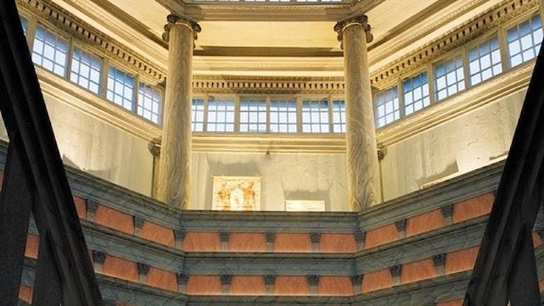 Den anatomiska teatern i Gustavianum
