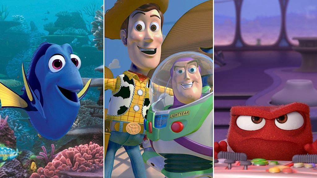 Pixar studios har totalt släppt över 20 långfilmer.